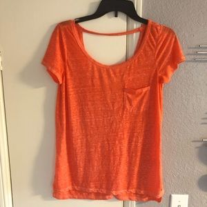 American Eagle Outfitters cut out back loose tee